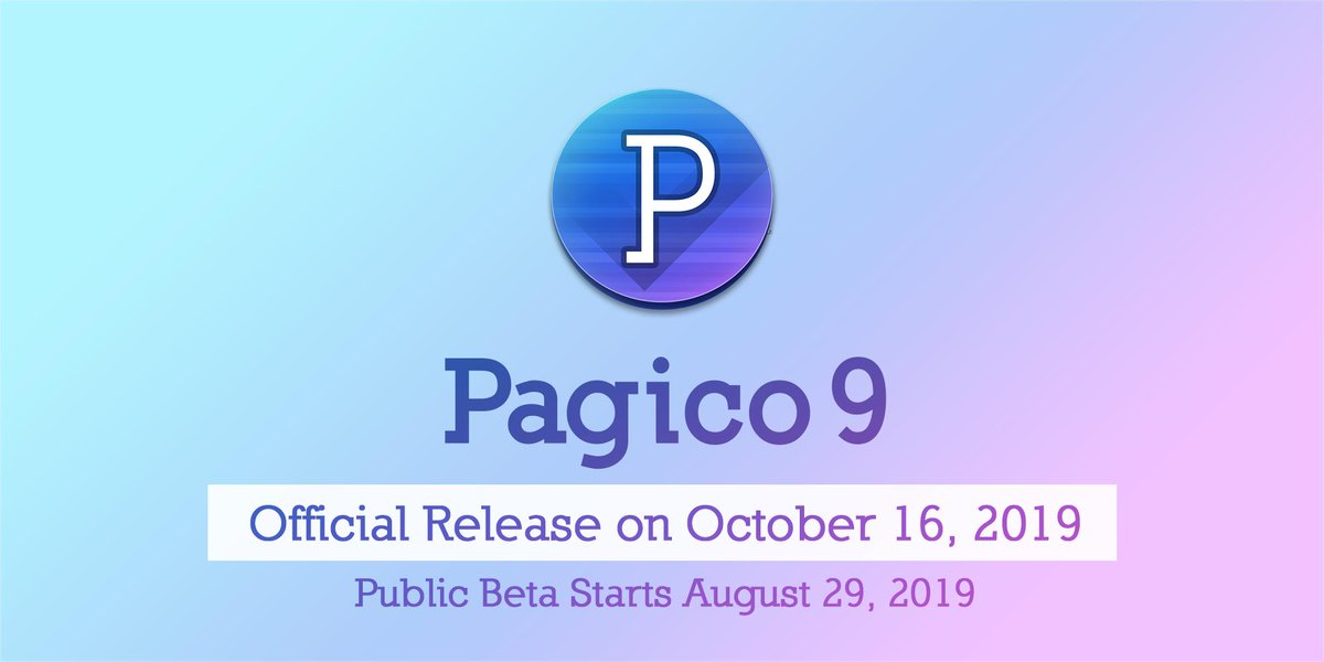 Pagico 9 release